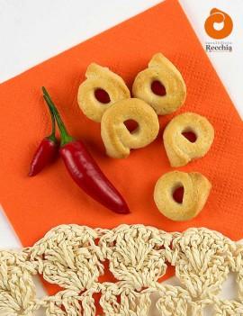 Tarallini with chilli pepper