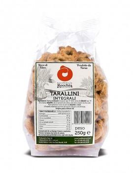 Tarallini integrali 250 gr