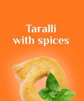 Spiced tarallini