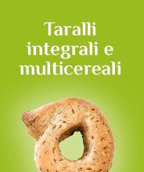 Taralli integrali e multicereali